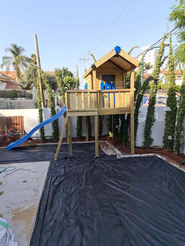 התקנת בית עץ ברעננה